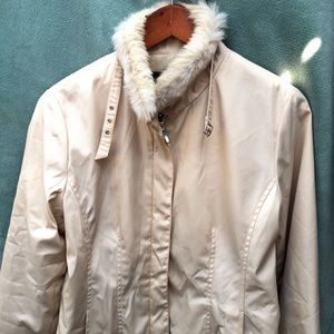 Master Max Jacket With Rabbit Fur Trim